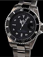 Masculino Relógio Esportivo Relógio de Moda Chinês Quartzo Lega Banda Prata