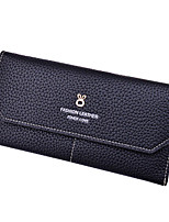 Women PU Polyester Formal Casual Shopping Outdoor Office & Career Wallet All Seasons