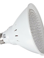 1pcs 6.5W E27 LED Grow Lights 102Red 54Orange 12Blue LED Plant Growlight Hydroponics LED Bulb lamps 110V/220V Decorative