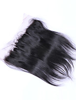20Inch Braizlian Straight Lace Frontal Closure Best Virgin Brazilian human hair closures Free/Middle/3Part Closure