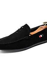 Herren-Loafers & Slip-Ons-Outddor Lässig Sportlich-Wildleder-Flacher Absatz-Komfort-
