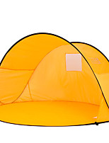 2 persons Tent Single Automatic Tent One Room Camping Tent Fiberglass Portable-Camping Traveling-