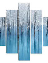 Art Print Still Life Modern,Five Panels Horizontal Print Wall Decor For Home Decoration