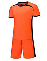 Kid's Soccer Tracksuit Breathable Spring Summer Fall/Autumn Winter Classic Polyester Football/Soccer