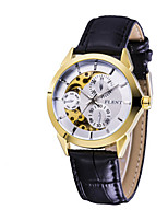 Men's Fashion Watch Japanese Quartz Alloy Band Casual Black