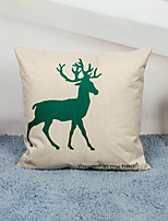 1 Pcs Elk series  45cm*45cm  Decorative Pillow Cover