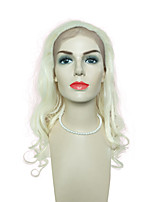 Blonde Lace Front Wigs Deep Wave For Black Women Synthetic Front Lace Wigs Costume Cosplay Wig