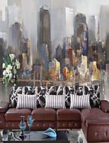 Ар деко 3D Обои Для дома Люкс Облицовка стен , Холст материал Клей требуется фреска , Обои для дома