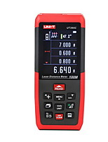 UNIT UT395C Handheld Digital 100m 635nm Laser Distance Measurer with Distance & Angle Measurement(1.5V AAA Batteries)