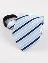 Lazy man Plaid business men's tie