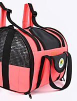Cat Dog Carrier & Travel Backpack Front Backpack Pet Carrier Portable Double-Sided Breathable Foldable Massage Soft Solid Green Red Yellow