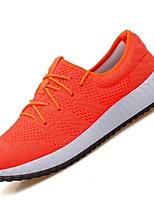 Men's Sneakers Summer Light Soles Tulle Outdoor Casual Low Heel Gray Dark Blue Orange Black