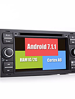 Bonroad Android 7.1.1  Newest 2G Ram 32G Rom GPS Car Navigation DVD Video Player Fo Ford/Mondeo/Focus/Transit/C-MAX/S-MAX/Fiesta