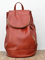 Women Backpack PU All Seasons Casual Ruby