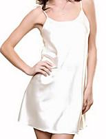 Jarretière Vêtement de nuit Femme Couleur Pleine-Mince Polyester Aux femmes