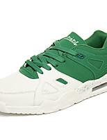 Homme-Décontracté-Noir/blanc Rouge/Blanc Blanc et vert-Talon Plat-Confort-Chaussures d'Athlétisme-Polyuréthane