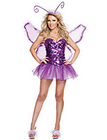 Cosplay Kostýmy cosplay Festival/Svátek Halloweenské kostýmy Ostatní Šaty Křídla Halloween Dámské elastan Terylen