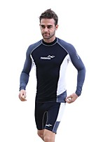 Men's Full Wetsuit Breathable Quick Dry Anatomic Design Chinlon Diving Suit Long Sleeve Diving Suits-Diving Spring Summer Fashion