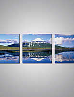 Stretched Canvas Prints Snow Mountain Landscape  Picture Print Contemporary Art for Livingroom Decoration