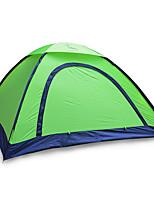 2 personnes Tente Unique Tente pliable Une pièce Tente de camping 1000-1500 mm Fibre de verre Oxford Etanche Portable-Randonnée Camping-