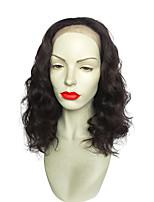 18 polegadas rendas frente perucas peruca sintética encaracolados nova cor de preto estilo para as mulheres