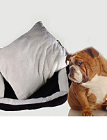Cat Dog Bed Pet Mats & Pads Soft Coffee
