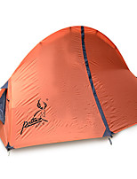 JUNGLEBOA 1 person Tent Double Family Camping Tents One Room Camping Tent Oxford Polyester TaffetaMoistureproof/Moisture Permeability
