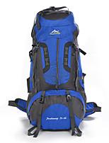 80 L Rucksack Klettern Freizeit Sport Camping & Wandern Regendicht Staubdicht Atmungsaktiv Multifunktions