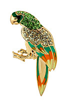 Women's Brooches Multi-ways Wear Gold Plated Leaf Silver Jewelry For Daily Casual