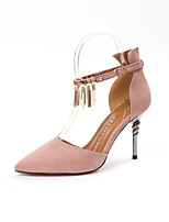 -Для женщин-Свадьба Для прогулок Для офиса Для праздника Повседневный-Полиуретан-На шпильке-клуб Обувь Оригинальная обувь Гладиаторы-