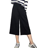 מכנסיים צ'ינו רזה strenchy הארם גיזרה נמוכה הדפס חיות Chinoiserie נשים