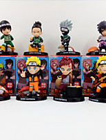 Anime Action Figures Inspired by Naruto Cosplay PVC 8 CM Model Toys Doll Toy 1set