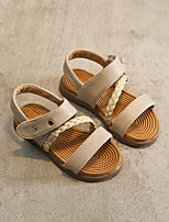 Girls' Sandals Summer Comfort PU Casual Flat Heel