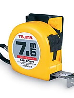 Tajima Hilock Tape Measure 25-75 With Safety Buckle 7.5M * 25MM