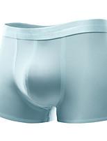 Sexy Solid Boxers Underwear,Rayon