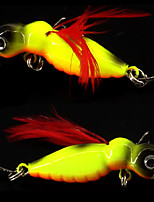 2 pcs Others Fishing Tools Fishing Lures Jigs White Red yellow shad gold black back g/Ounce,45 mm/1-3/4