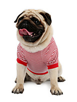 Sailor  Anchor Stripe T-shirt Sweater shirt for Cats and Dogs