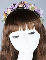 Feminino Fofo Festa Casual Tecido Outros Primavera Verão Outono Lenço de Cabelos