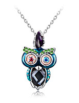 Жен. Ожерелья с подвесками В форме животных Стразы Сплав Euramerican Мода Бижутерия ДляСвадьба Особые случаи День рождения Обручение