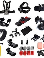 Sports Action Camera Tripod Case/Bags Multi-function Foldable Adjustable All in One Convenient ForAll Gopro Xiaomi Camera Gopro 4 Black