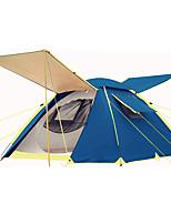 3-4 человека Световой тент Двойная Автоматический тент Однокомнатная Палатка 2000-3000 мм Железо ОксфордВлагонепроницаемый