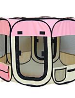 Chat Chien Sac de transport Animaux de Compagnie Transporteur Etanche Portable Pliable Respirable Tente Mosaïque Rose