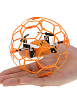 Drone 4 Canaux 6 Axes 2.4G - Quadri rotor RC Eclairage LED Retour Automatique Mode Sans Tête Vol Rotatif De 360 Degrés FlotterQuadri