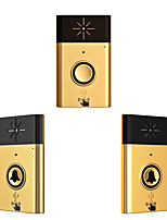 Wireless Voice intercom Doorbell Support Indoor and Outdoor Voice Intercom Up to 200ft Work Range Two Trasmitter and One Receivers