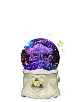 Music Box Circular Novelty & Gag Toys Glass Women's Girls´