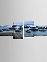Art Print Landscape Modern Mediterranean,Four Panels Canvas Any Shape Print Wall Decor For Home Decoration