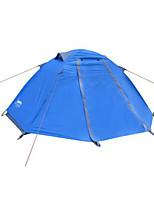 1 Person Zelt Doppel Falt-Zelt Einzimmer Camping Zelt 2000-3000 mm Oxford Wasserdicht-Camping