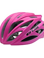 Sports Unisex Bike Helmet 26 Vents Cycling Cycling PC EPS Fuchsia and Built-in 3D Keel
