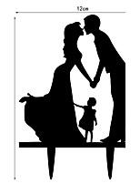 Acrílico Decorações do casamento-1 peça Primavera Verão Outono Inverno Não Personalizado
