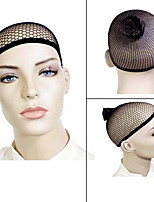 1pc Open end Black Mesh Net Wig Cap Liner